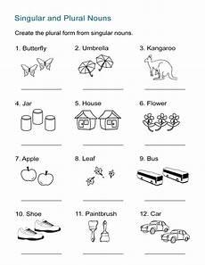 singular and plural nouns worksheet all esl