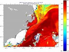 Sst Charts Rutgers Cape Hatteras Sea Surface Temperatures Thursday June 15