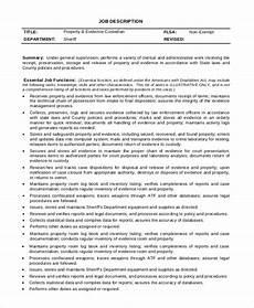 Custodian Job Description Resume Sample Custodian Job Description 8 Examples In Pdf Word