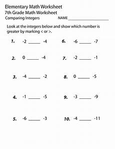 7th Grade Math Worksheets Algebra Printable Seventh Grade Math Worksheets Learning Printable