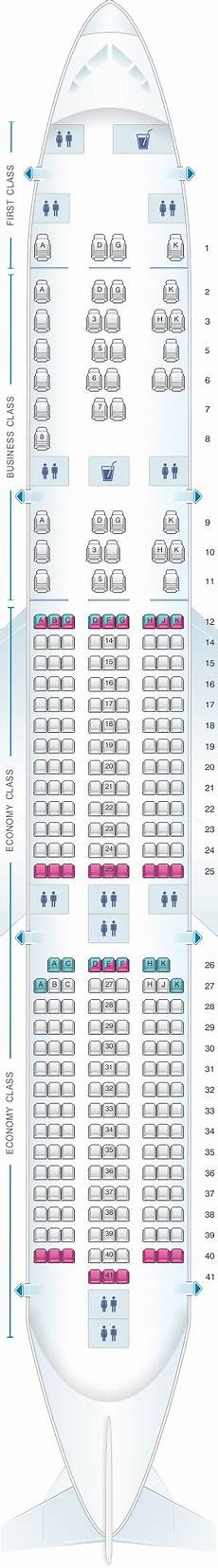Airbus A350 900 Seating Chart Seat Map Malaysia Airlines Airbus A350 900 Seatmaestro