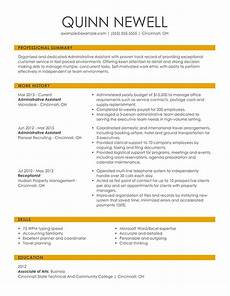 Most Recent Resume Format Your Ultimate Resume Format Guide For 2020 Examples Hloom