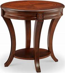 winslet cherry oval end table from magnussen home