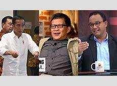 Rocky Gerung Tertawa Bahas Meme Jokowi Vs Anies Baswedan