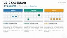 Calendar Template Powerpoint 2019 Calendar Powerpoint Templates