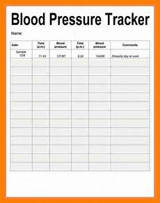 Charting Blood Pressure Readings Excel Blood Pressure Record Chart Printable Template Business