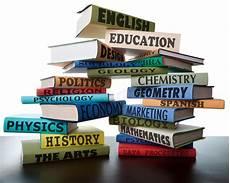 Books For College Graduates Stack Of School Textbooks College Study Books Stock Photo