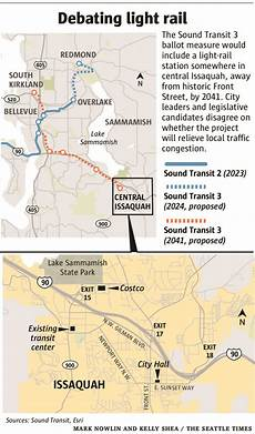 Day Pass Seattle Light Rail Light Rail Stop In Issaquah Growing City At Crossroads