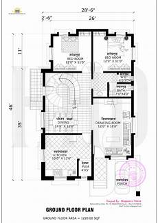 Floor Plans Free Free Floor Plan Of 2365 Sq Ft Home Kerala Home Design