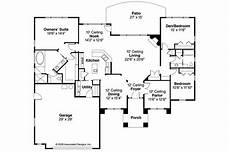 Mansion Floor Plans Mediterranean House Plans Mendocino 30 681 Associated