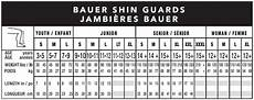 Shin Pads Size Chart Shin Guards Sizing Guide South Windsor Arena