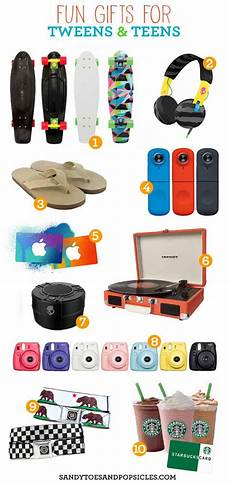 gift and birthday ideas for a tween and