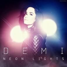 Demi Neon Light Platinum Selling Artist And The X Factor Judge Demi Lovato