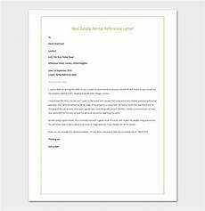 Real Estate Reference Letter Sample Rental Reference Letter Template 12 Samples Amp Examples