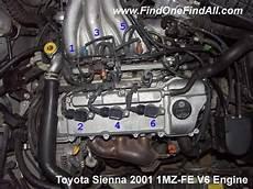 Check Engine Light On Toyota Sienna P0300 P0301 P0302