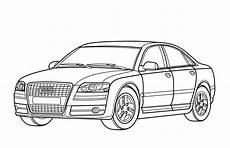 Malvorlagen Autos Zum Ausdrucken Spielen Ausmalbilder Audi A6 Auto Zum Ausmalen Malvorlagen