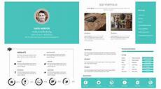 Portfolio Cv Examples Free Download Personal Resume Cv Portfolio On Behance
