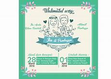 free template undangan pernikahan coreldraw 2018 guru corel