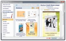 Brochure Microsoft Create Brochure In Word 2007 Or 2010 Make Brochure