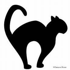 Malvorlage Schwarze Katze Gooseberry Patch