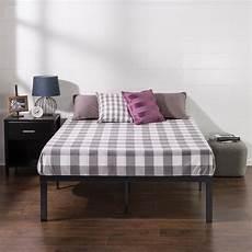 zinus lock 16 in metal platform bed frame hd