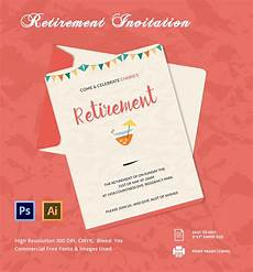Retirement Party Invitation Template Word Retirement Invitation Template Retirement Party