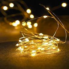 Wire Christmas Tree With Led Lights 1 10m Copper Wire Led String Lights Night Light Holiday