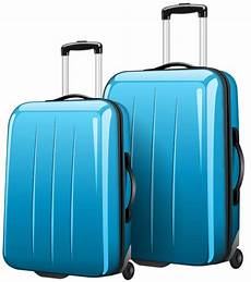 two blue travel bags png clipart picture gallery