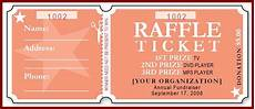 Numbered Event Tickets Free Raffle Ticket Template Template Business