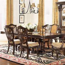 Dining Table Card Design Fairmont Designs Grand Estates Double Pedestal Rectangular