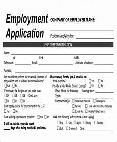 Employee Application Form Pdf 49 Job Application Form Templates Free Amp Premium Templates