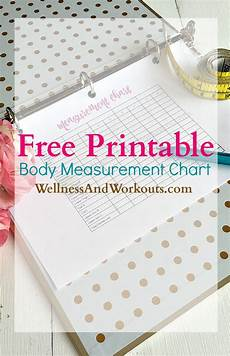 Body Measurement Chart Printable Free Printable Body Measurement Chart T Tapp Inspired
