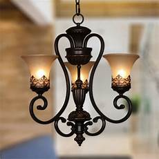 Candle Style Light Fixture Vintage Ceiling Lamp 3 Candle Lights Lighting Fixtures