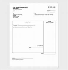 Writing Invoice Template Freelance Invoice Template 5 For Word Excel Amp Pdf Format
