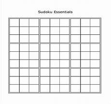 Sudoku Templates Sudoku Worksheets Homeschooldressage Com