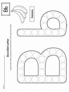 letter b do a dot worksheet preschool letters preschool