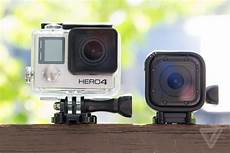 How To Use A Gopro Hero 4 Gopro S Hero 4 Session Is Its Smallest Camera Ever The Verge
