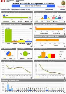 Human Resource Dashboard Audit Of Hr Data Integrity