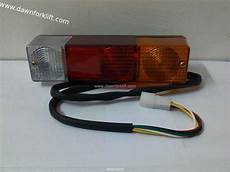 Universal Light Assembly Universal Forklift Taillight Assembly Amp Rear Light Working