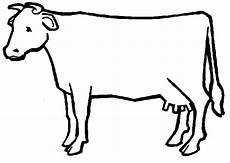 Outline Of Cow Outline Of A Cow Cliparts Co