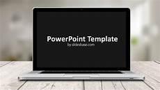 Powerpoint Templates For Mac Laptop Screen Powerpoint Template Slidesbase