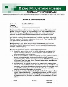 Sample Construction Bid Proposal 31 Construction Proposal Template Amp Construction Bid Forms