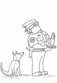 officer buckle and gloria coloring page supercoloring