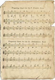French Horn Chart French Horn Chart The Girl Pinterest