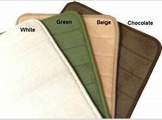 "24""X17"" Memory Foam Bath Mat Micro plush Suede Fabric Anti Slide Clearance Sales   eBay"