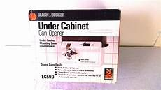 black decker ec59d cabinet space saver can opener
