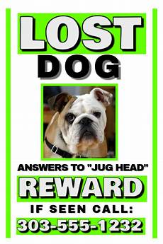 Lost Dog Poster Maker Lost Dog Template Postermywall