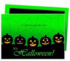 Word Halloween Templates 32 Best Halloween Party Invitations Diy Printable
