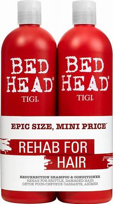 tigi bed antidotes 3 resurrection shoo and