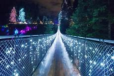 Capilano Suspension Bridge Canyon Lights Tickets Canyon Lights Are Back At Capilano Suspension Bridge